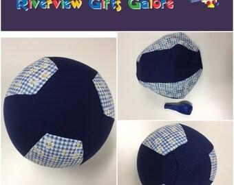 Balloon Ball Cover - Navy Daisy