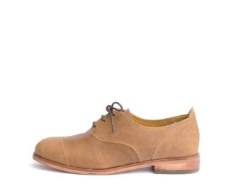 Oxford Shoes Toffee
