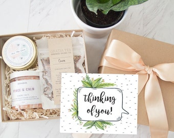 Cheer Up Gift Box | Sympathy Gift Box | Get Well Package | Lavender Bath Gift | Spa Gift For Friend | Anxiety Relief Gift For Her