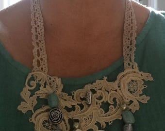 Necklace, boho style
