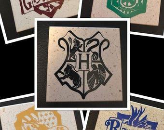 Harry Potter Granite Coaster Set