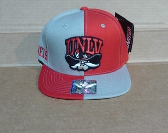 UNLV Runnin' Rebels Baseball Cap - Mens One Size Fits All