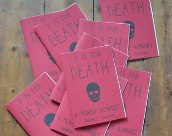 D is for Death - Zine