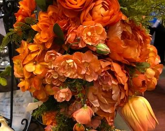 wedding bridal bouquet bridesmaid bouquet