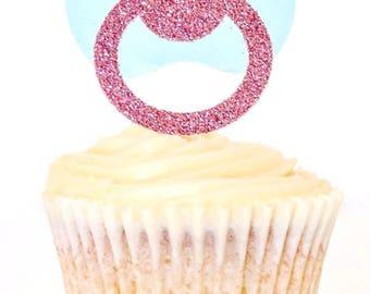 Pacifier Cupcake Topper