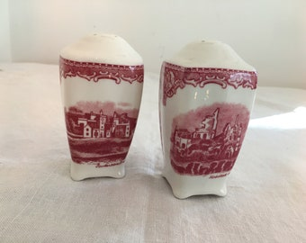 Salt and Pepper Shakers Vintage Johnson Brothers