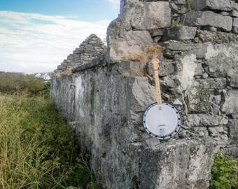 Irish Banjo, Inishmore, Aran Islands, Ireland