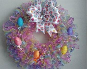 Wreath: Easter Deco Mesh