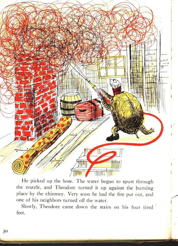 Theodore Turtle - Ellen MacGregor - Paul Galdone - 1955 - Vintage Kids Book