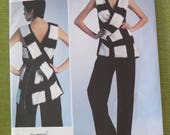 Vogue 1309 ISSEY MIYAKE Misses Tunic and Pants Sewing Pattern size 14 16 18 20 22 UNCUT