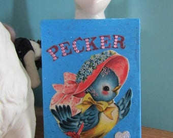 Pecker {Original Collage}