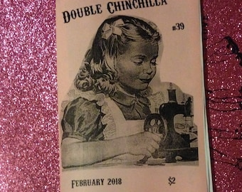 Double Chinchilla Art Zine #39