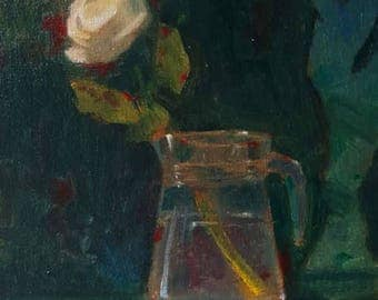 Vase with Rose