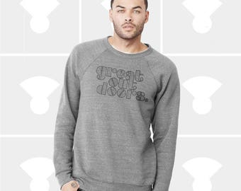 Great Outdoors - Unisex Triblend Crewneck Sweatshirt
