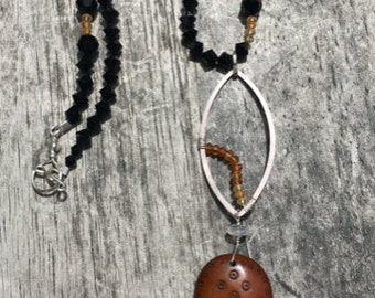 Antique African Bead Necklace