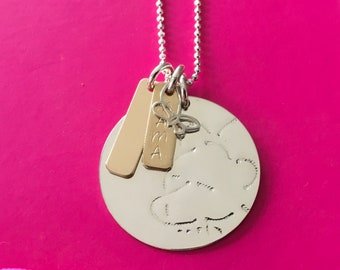 mom gift|Mama Bear gift for mom Personalized gift|Custom Jewelry|With Kids Names Bar necklace|Mother's Day Gift|Sterling Personalized Gift