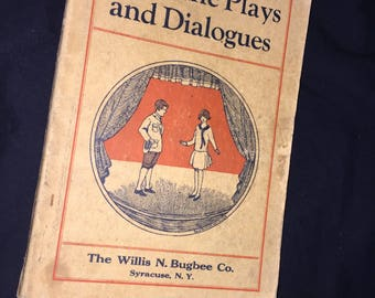 1929 Sunshine Plays and Dialogues