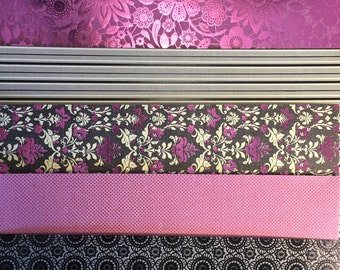 Planner Dividers-Black and Pink