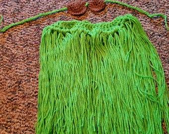 Baby Grass Skirt Set