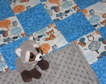 Patchwork Quilts - Animal Patchwork Blanket - Animal Friends
