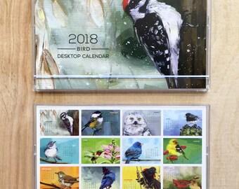 2018 Art by Alyssa Bird Desktop Calendar