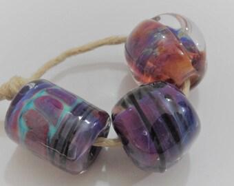 Lampwork Beads, Handmade Glass Beads, Orphan Beads, Singles