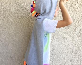 Unicorn Cape, Halloween Costume or Dress Up Cape, Custom Colors