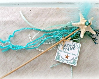 Mermaid Wand - For Little Mermaids