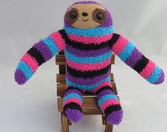 Gabe Sloth - Sloth Plush Sock Animal