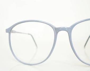 Oversized 1980s Gray Glasses Vintage Eyeglasses Womens Geek Chic Girls 80s Retro Nerdy Sunglasses Sunnies Deadstock NOS Brand New