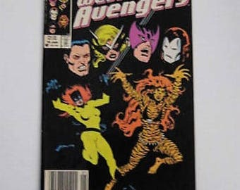 "1986 Marvel Comic ""The West Coast Avengers"", Marvel 25th Anniversary Comic Book, Jan 16, 1986 The West Coast Avengers, Marvel Comic Book"
