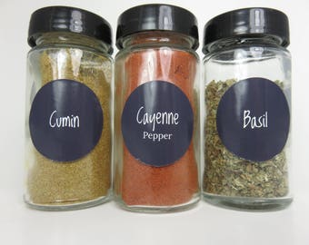 Chalkboard Spice Jar Labels Set of 80! Digital File