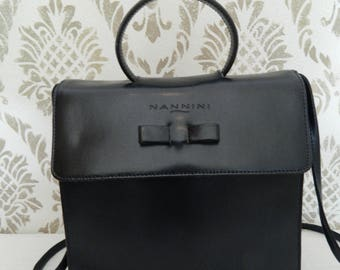 Blue Nannini handbag from the 80s