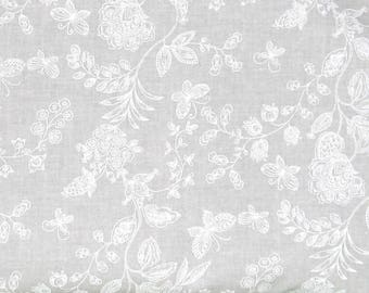 SALE Jade Flower 108 Wide Back 100% Cotton Quilt Fabric : wide quilt backing fabric sale - Adamdwight.com