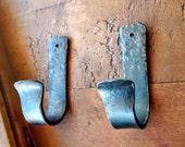 Pair of Boat Paddle Hooks // Oar Hooks // Boat Hooks // Gun Hooks // Gun Rack // Rifle Mounting Hooks // Shotgun Rack