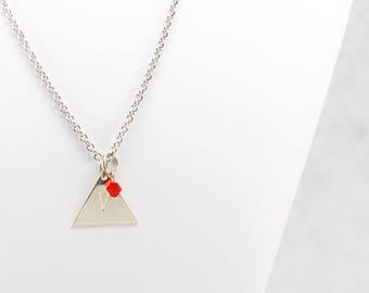 Team Valor Inspired Pokemon Go Necklace in Silver - Team Valor Necklace, Team Valor Jewelry, Pokemon Go Jewelry, Geek Jewelry, Gamer Jewelry