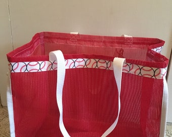 Personalizable Reusable tote shopping bag