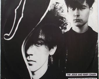 Jesus and Mary Chain JAMC Some Candy Talking EP 12 inch vinyl in picture sleeve
