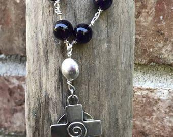 Handmade Celtic Cross Rosary