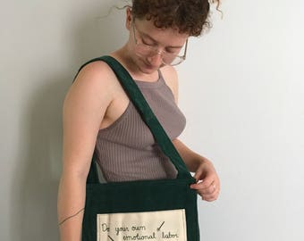 Do Your Own Emotional Labor Tote Bag
