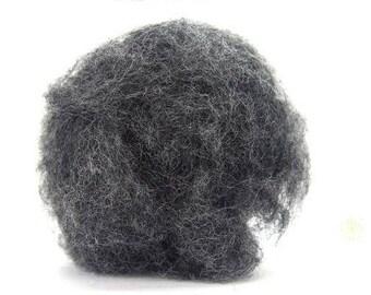 Corriedale Bulky Wool Roving - Windstorm - 4 ounces