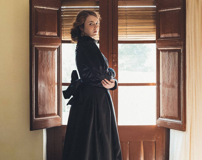 Victorian Mourning style dress