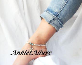 Beach Ankle Bracelet Anklet Gold Anklet Starfish Ankle Bracelet Anklets for Women CHOKER AVAIL