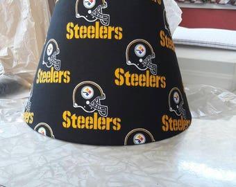 Pittsburgh Steelers lamp shade. NFL