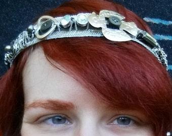Silver Trinket Tiara