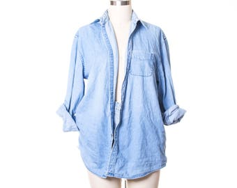 Veg Denim Oversize Blouse size L/XL