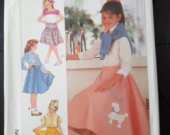 Sewing Pattern For Girls Skirt