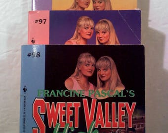 Sweet Valley High Books, Set of 3
