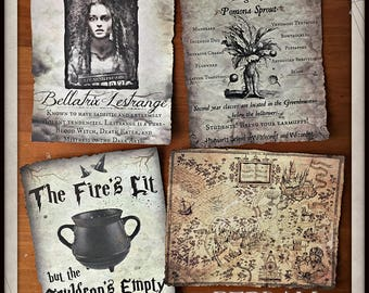Enchanting Prints inspired by Harry Potter - Your Choice
