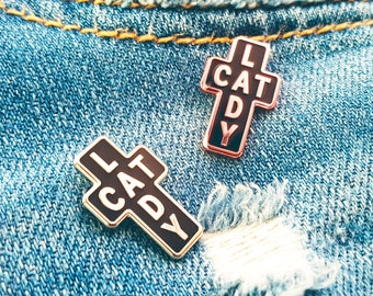 Cat Lady ~ Purrfect Pin